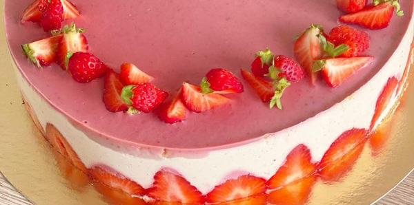 fraisier pâtissier vegan et sans gluten