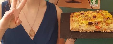 Pizza vegan à Nice